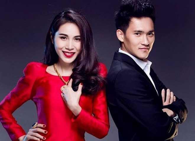 Chu tich CLB FLC Thanh Hoa cuoi hoa hau: 12 nam bong da yeu showbiz Viet hinh anh 1