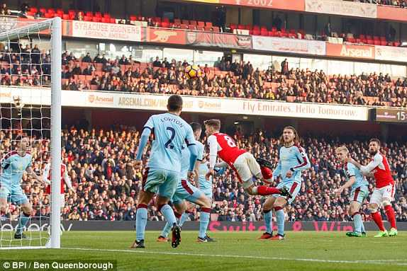 Truc tiep Arsenal vs Burnley hinh anh 1
