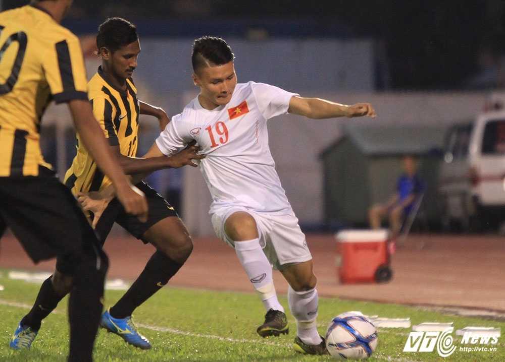Cong Phuong ghi ban tuyet dep, U23 Viet Nam thang dam U23 Malaysia hinh anh 5