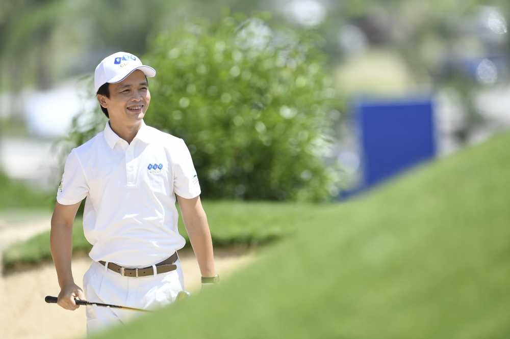 Chu tich FLC thuong 10.000 USD cho golf thu trung giai Hole in one hinh anh 1
