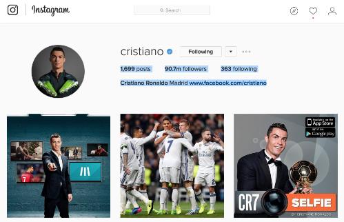Ronaldo quang ba tron doi cho Nike, nhan thu lao ty dola hinh anh 1