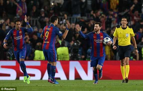 Link xem truc tiep Barca vs PSG vong 1/8 Cup C1 Chau Au hinh anh 1
