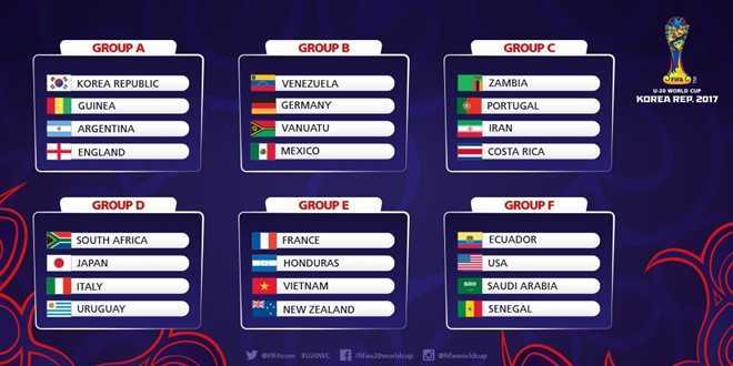 Link xem video truc tiep le boc tham U20 World Cup 2017 hinh anh 1