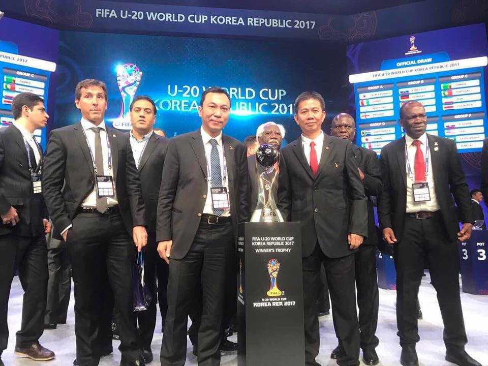 U20 World Cup 2017: HLV U20 Viet Nam hi vong tao bat ngo hinh anh 1