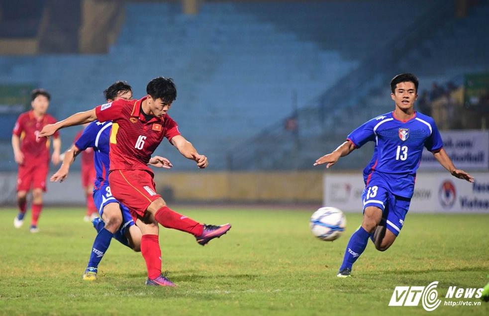Video ket qua Viet Nam vs Dai Loan: Cong Phuong ghi ban, tuyen Viet Nam thoat tran thua muoi mat hinh anh 1