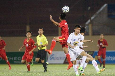 Video ket qua U19 Viet Nam vs U19 HAGL Arsenal JMG: Quan bau Duc thua to hinh anh 1