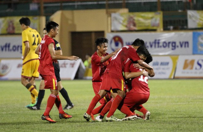 Thang U19 Gwangju, U19 Viet Nam vo dich U19 Quoc te 2017 hinh anh 1