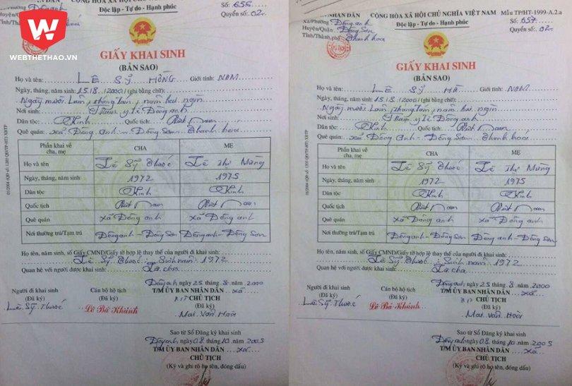 Cau thu bi to gian lan tuoi khoac ao Thanh Hoa o giai U11 nam 2015 hinh anh 2