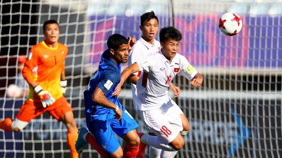 Thua tham U20 Phap, HLV Hoang Anh Tuan tin U20 Viet Nam con cua sang qua vong bang hinh anh 1