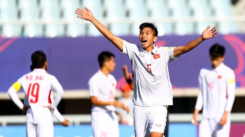 Ket qua U20 Viet Nam vs U20 Phap: U20 Viet Nam thua dam, mong manh cho ve vot hinh anh 1