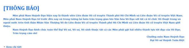 Chuong mon Nam Huynh Dao lan tranh loi thach dau cao thu Vinh Xuan? hinh anh 2
