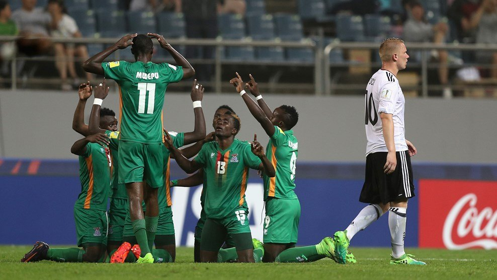Ket qua U20 Zambia vs U20 Duc: Tinh than Duc cung thua hinh anh 1