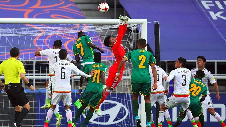 Ket qua U20 Mexico vs U20 Senegal: U20 Mexico thang nhe, gap U20 Anh o tu ket hinh anh 1