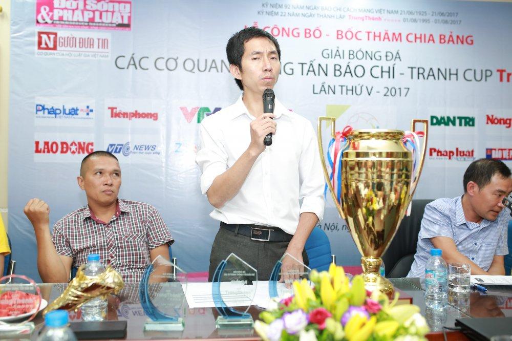 VTC News tham du Giai Bong da cac Co quan Thong tan Bao chi tranh cup Trung Thanh hinh anh 2