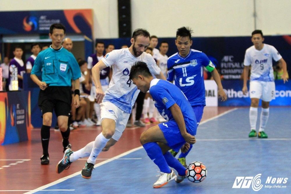 Ket qua ban ket futsal CLB chau A 2017: Thai Son Nam thua dam dai dien Thai Lan hinh anh 2
