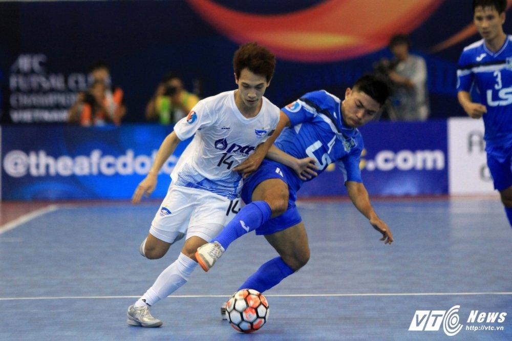 Ket qua ban ket futsal CLB chau A 2017: Thai Son Nam thua dam dai dien Thai Lan hinh anh 1