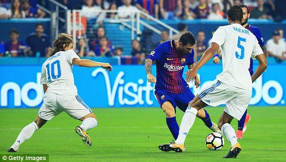 Truc tiep Real Madrid vs Barca, Link xem truc tuyen bong da ICC Cup 2017 hinh anh 2