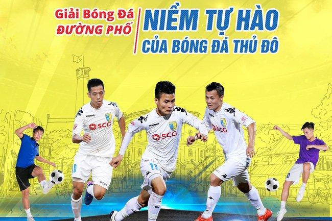 Lan dau to chuc giai bong da giua long pho di bo Ha Noi hinh anh 1