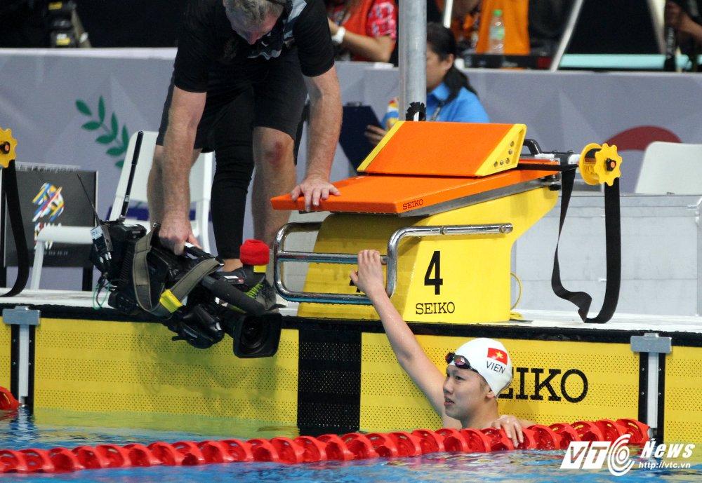Anh Vien gianh HCV 100m ngua, pha ky luc SEA Games hinh anh 4