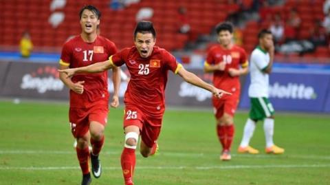 Xem truc tiep Viet Nam vs Indonesia - Bang B bong da SEA Games 29 hinh anh 6
