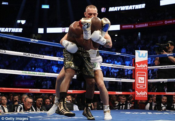 Video Highlight boxing ty USD: Floyd Mayweather  vs Conor McGregor hinh anh 3
