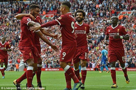 Truc tiep Liverpool vs Arsenal - Link xem bong da Ngoai Hang Anh 2017 hinh anh 1
