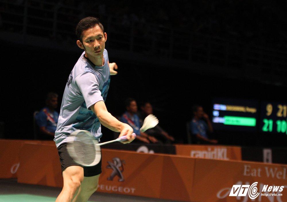 Truc tiep ban ket cau long SEA Games: Nguyen Tien Minh vs Jonathan Christie hinh anh 2