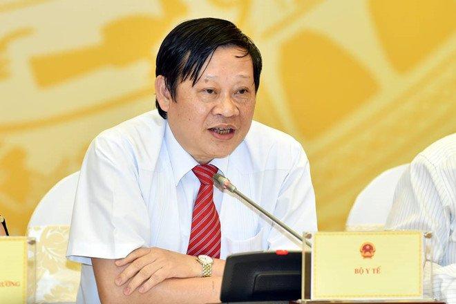 Em chong Bo truong Y te lam o VN Pharma: Bo truong khong noi chu khong phai noi 'khong co' hinh anh 1