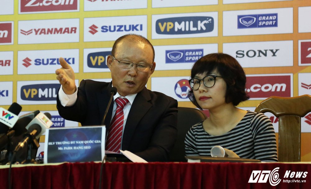 Truc tiep: Park Hang Seo nham chuc HLV truong doi tuyen Viet Nam hinh anh 2