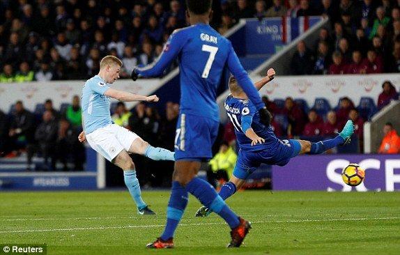 Truc tiep Leicester City vs Man City, Link xem Ngoai hang Anh 2017 hinh anh 1