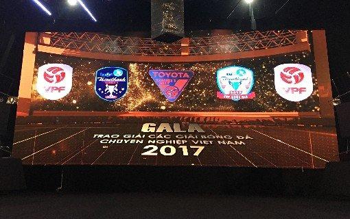 Truc tiep Gala tong ket cac Giai BDCN QG 2017 tren VTV6, VPF Media hinh anh 1