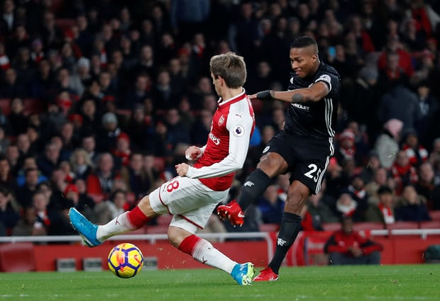Truc tiep Arsenal vs Manchester United vong 15 Ngoai Hang Anh hinh anh 2