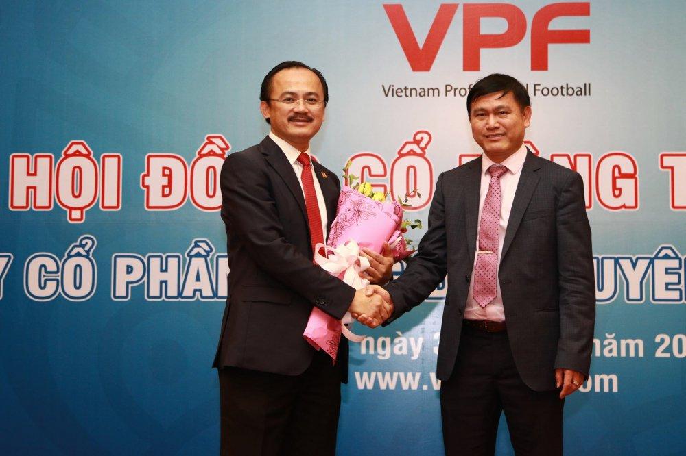 Chu tich VPF Tran Anh Tu: 'To chuc va dieu hanh V-League la viec qua kho khan' hinh anh 1