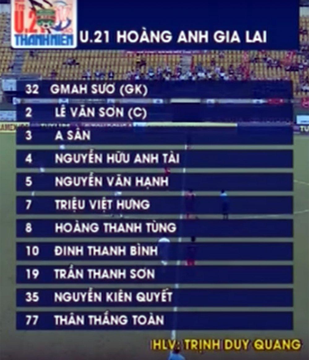 Video truc tiep U21 HAGL vs U21 Viettel, chung ket U21 Quoc gia 2017 hinh anh 1
