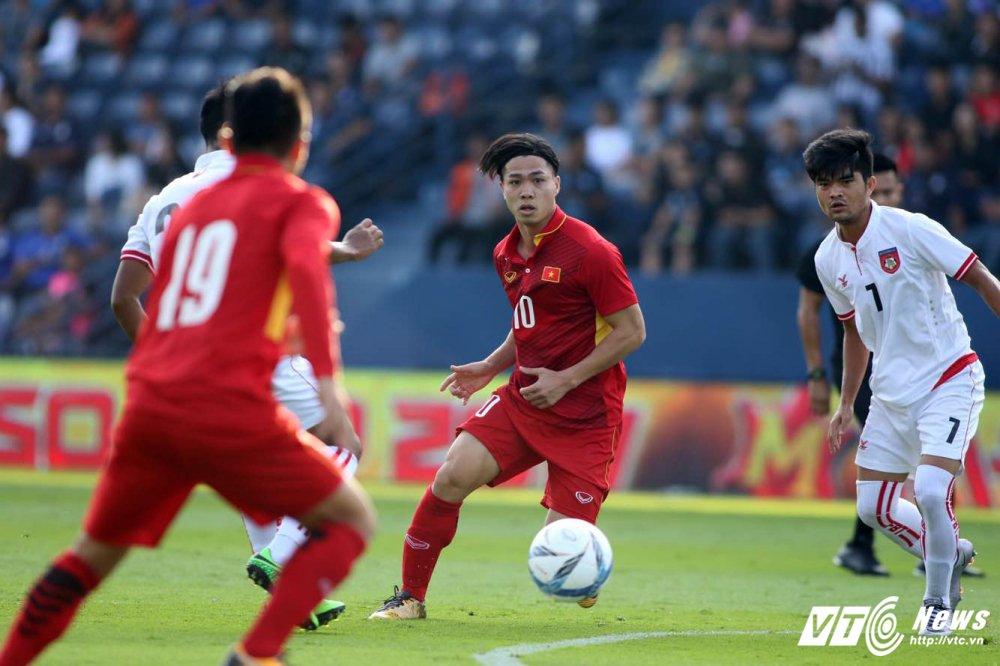 Quang Hai, Cong Phuong ruc sang, U23 Viet Nam vui dap U23 Myanmar hinh anh 1