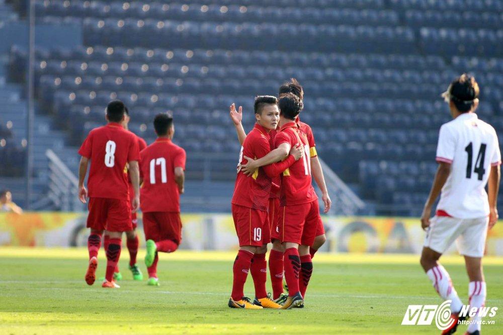 Xem video truc tiep U23 Viet Nam vs U23 Myanmar giai M150 Cup 2017 hinh anh 1