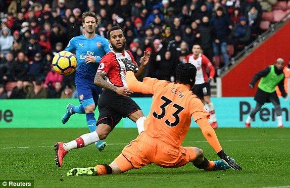 Xem truc tiep Southampton vs Arsenal vong 16 Ngoai Hang Anh 2017 hinh anh 1