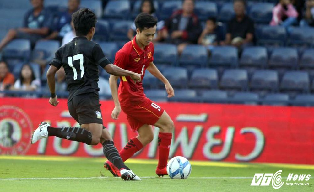 Truc tiep U23 Thai Lan vs U23 Viet Nam tranh hang Ba M-150 Cup 2017 hinh anh 10