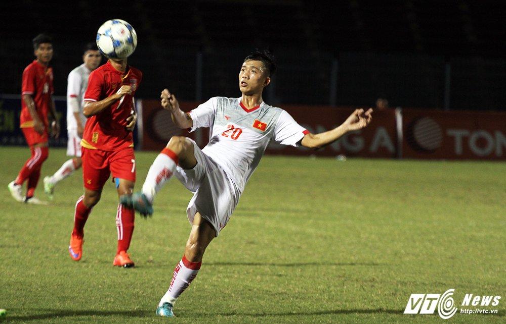 Video truc tiep U21 Viet Nam vs U19 Viet Nam giai U21 Quoc te 2017 hinh anh 8