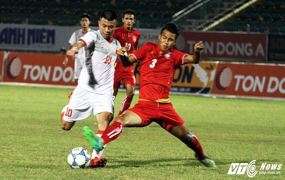 Xem video truc tiep U21 Viet Nam vs U21 Myanmar giai U21 quoc te hinh anh 4