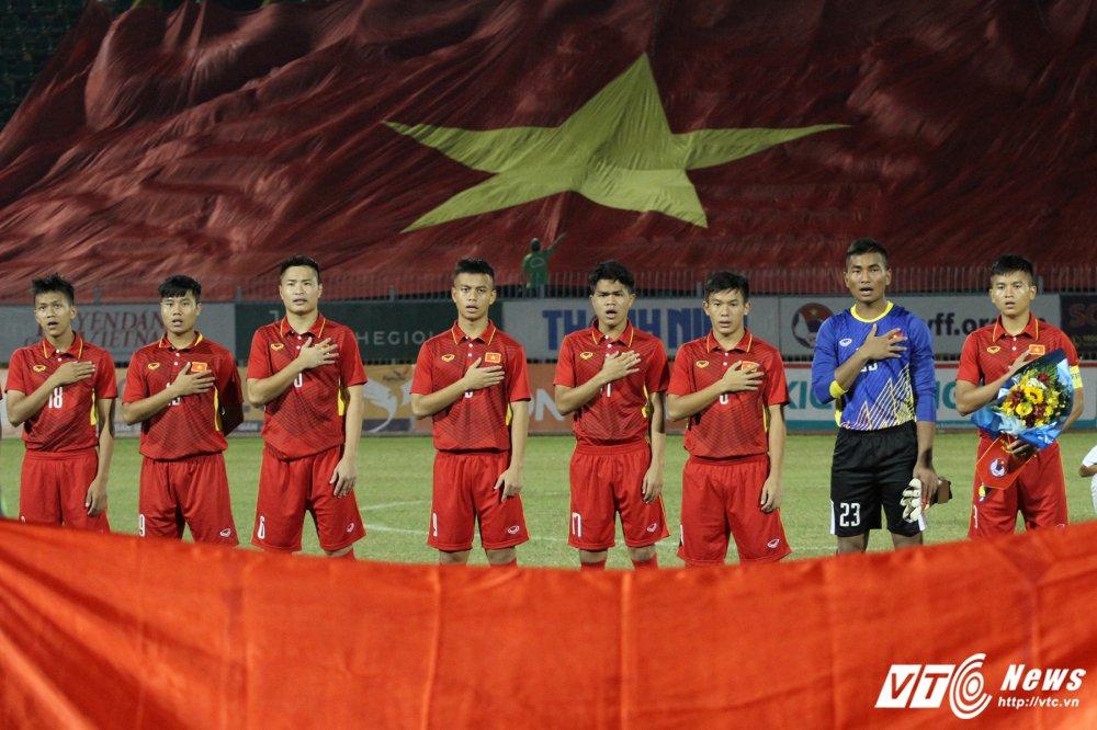 Video truc tiep U19 Viet Nam vs U21 Thai Lan giai U21 quoc te 2017 hinh anh 6