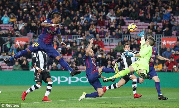 Truc tiep Barca vs Levante, link xem bong da vong 18 La Liga 2018 hinh anh 2