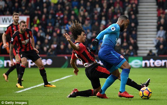 Truc tiep AFC Bournemouth vs Arsenal, Link xem Ngoai hang Anh 2018 vong 23 hinh anh 2