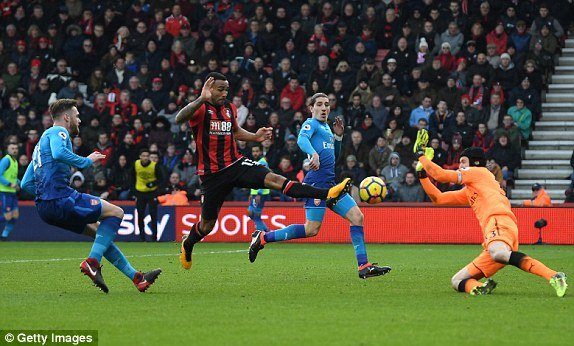 Truc tiep AFC Bournemouth vs Arsenal, Link xem Ngoai hang Anh 2018 vong 23 hinh anh 1