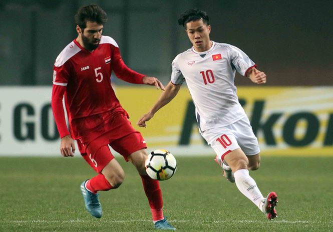 Cam hoa U23 Syria, U23 Viet Nam vuot bang tu than, vao tu ket U23 chau A hinh anh 1