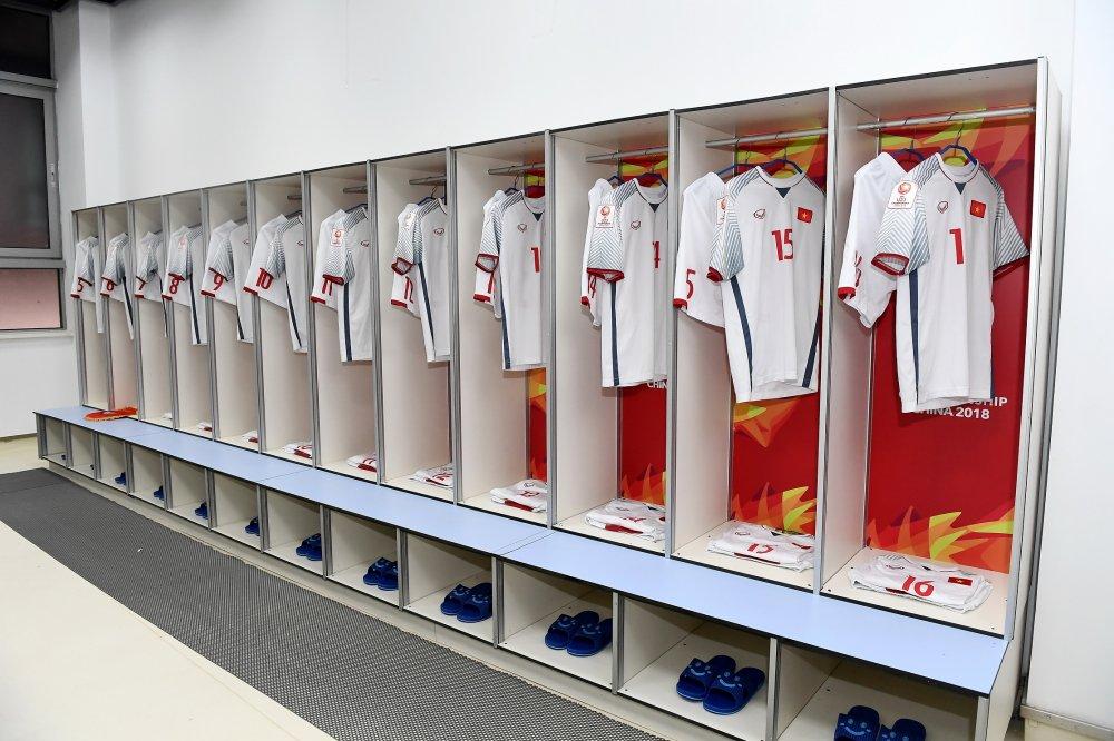 Ket qua U23 Viet Nam vs U23 Qatar: Hap dan tran ban ket U23 Chau A hinh anh 6