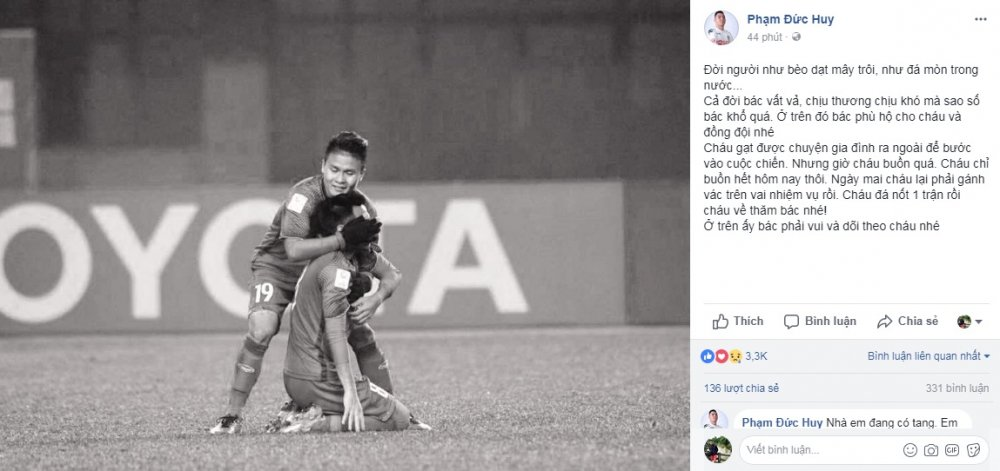Tuyen thu U23 Viet Nam nen noi dau mat nguoi nha, xa than vi danh du To quoc hinh anh 1