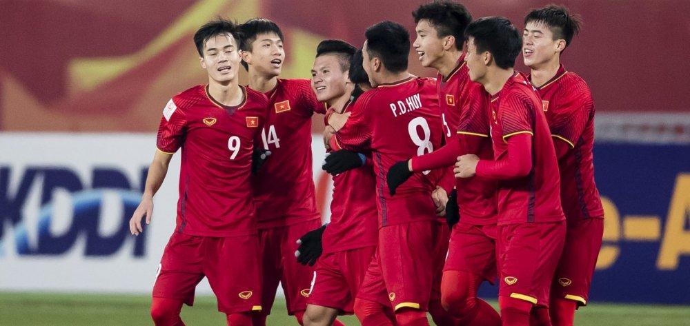 Chu tich nuoc tang Huan chuong Lao dong hang Nhat cho U23 Viet Nam hinh anh 1