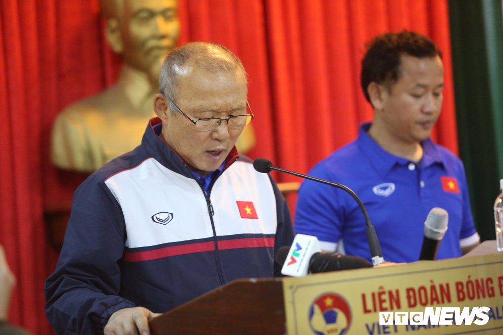 Truc tiep: HLV Park Hang Seo chia se ve ky tich phi thuong cua U23 Viet Nam hinh anh 2