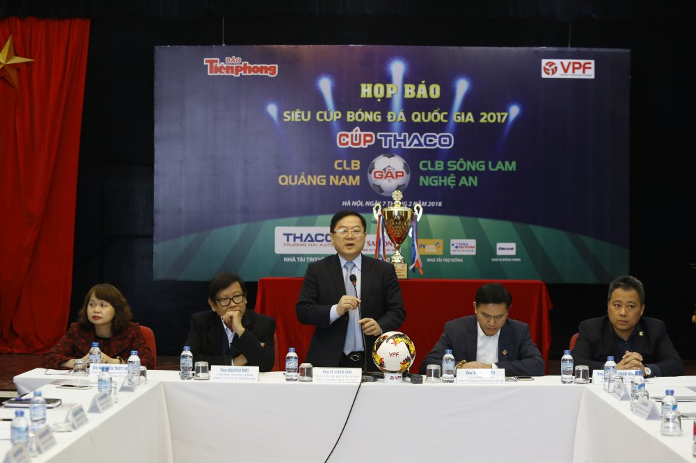300 trieu dong tien thuong cho doi doat Sieu Cup Quoc gia 2018 hinh anh 1